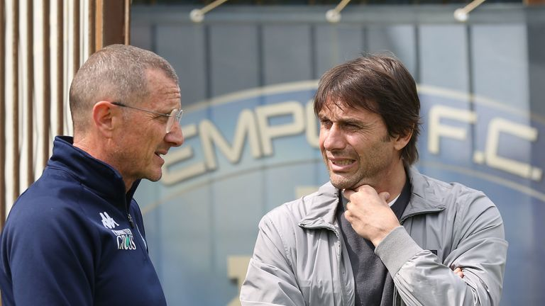 New Inter Milan manager Antonio Conte previously tried to sign Lukaku in 2017