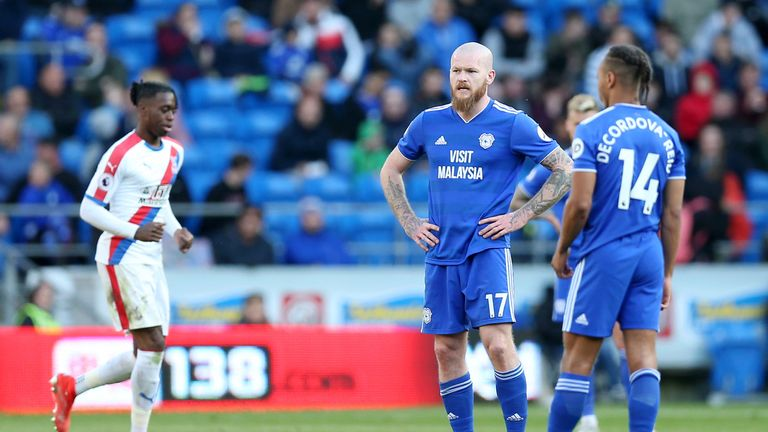 The defeat will see Cardiff play in the Sky Bet Championship next season
