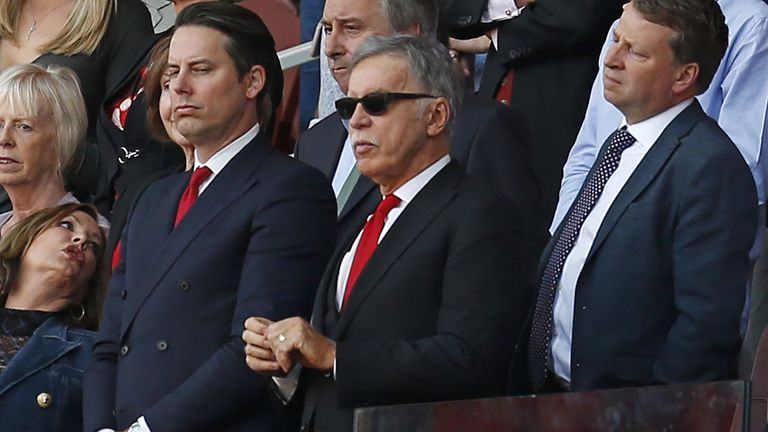 Stan Kroenke joined the Arsenal board of directors in 2008
