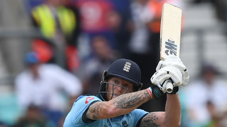 Watch the pick of the action as England opened their World Cup account with a convincing victory over South Africa at The Oval on Thursday