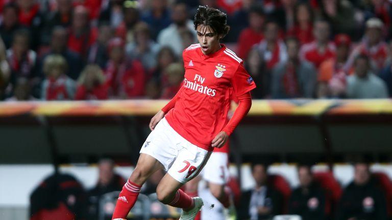 Benfica's Joao Felix has been a breakthrough star in Portugal this season