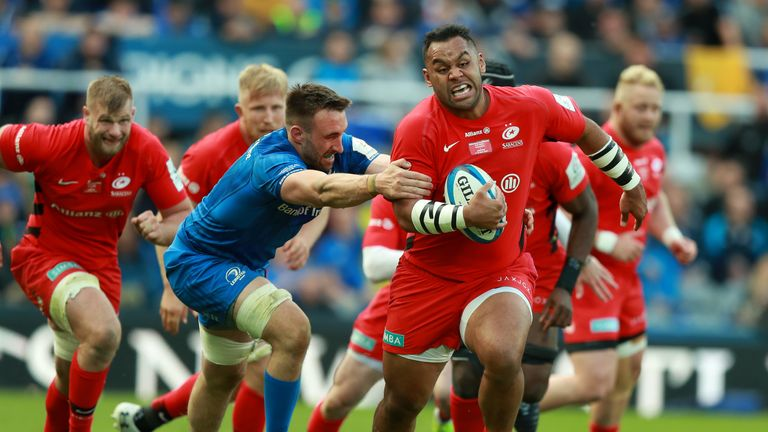 Billy Vunipola has played 1313 minutes in 19 games for club and country this term