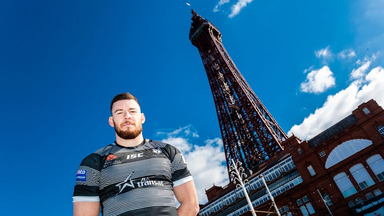 Blake Wallace is looking forward to another trip to Blackpool for the Summer Bash
