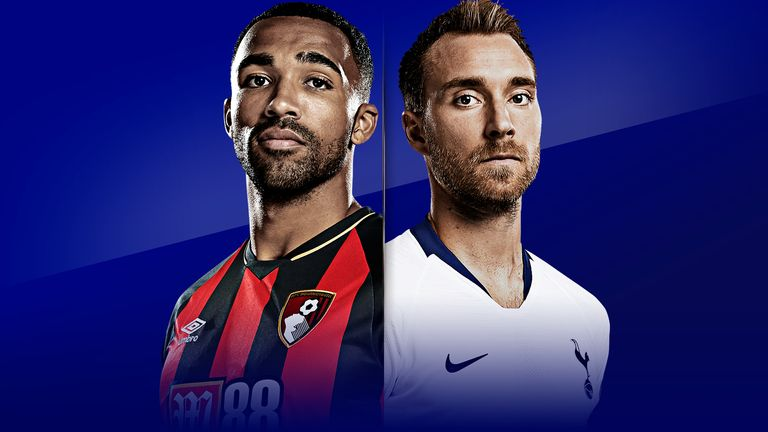 Watch Bournemouth vs Spurs live on Sky Sports from 11.30am on Saturday