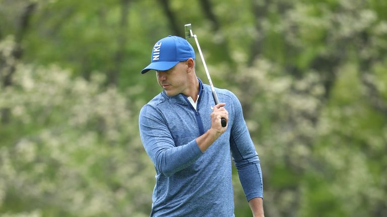 Koepka mixed seven birdies with two bogeys on Friday