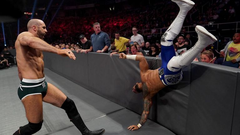 Cesaro and Ricochet had an excellent match on Raw this week