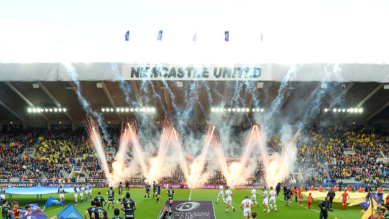 Newcastle United's St James' Park plays host to 2019's Challenge Cup and Champions Cup finals