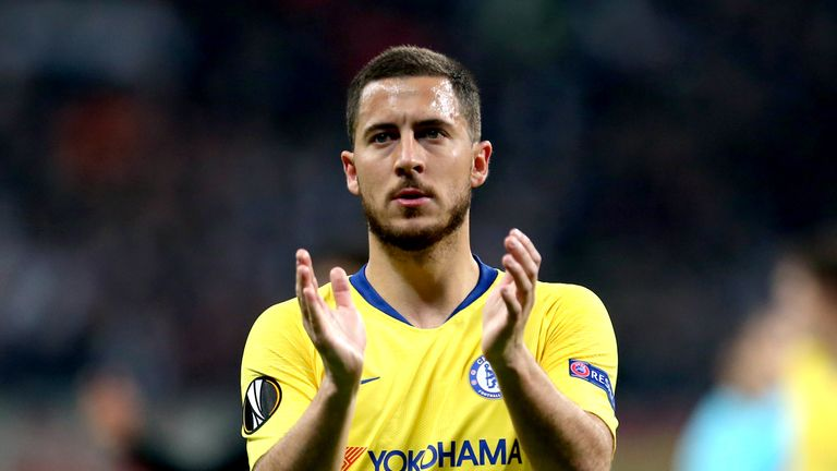 Eden Hazard has a year remaining on his Chelsea contract