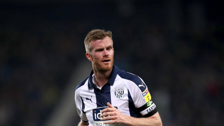Chris Brunt will be at West Brom for a further year