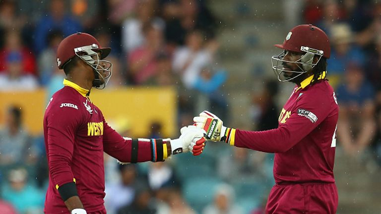 Chris Gayle and Marlon Samuels shared a world-record partnership of 372