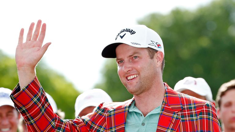 Kirk claimed a one-shot victory at the 2015 Crowne Plaza Invitational at Colonial