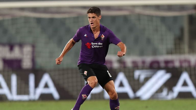 Fiorentina's Christian Norgaard is joining Brentford