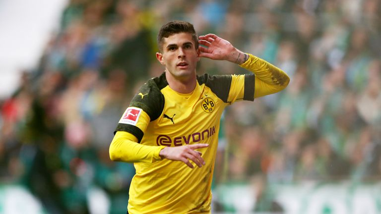 Christian Pulisic is joining Chelsea this summer from Borussia Dortmund