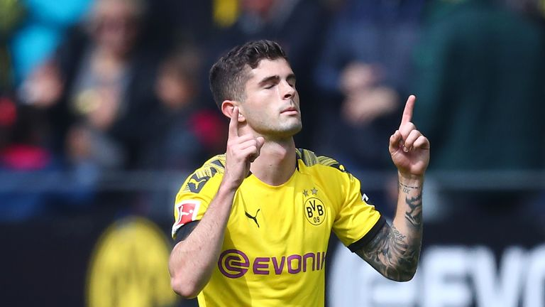 Pulisic is set to make his Chelsea debut on Friday, six months after signing from Borussia Dortmund