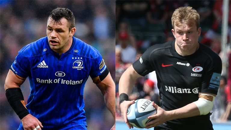 Cian Healy and Nick Tompkins both produced outstanding contributions for their respective sides