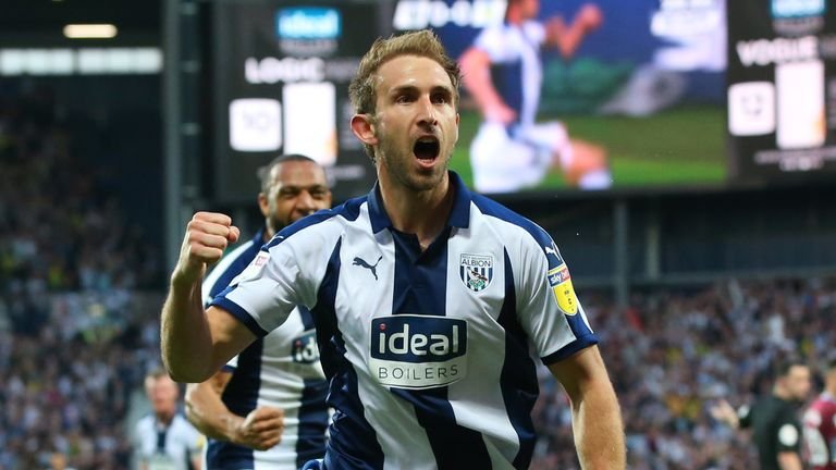 Craig Dawson scored the only goal for West Brom on Tuesday night