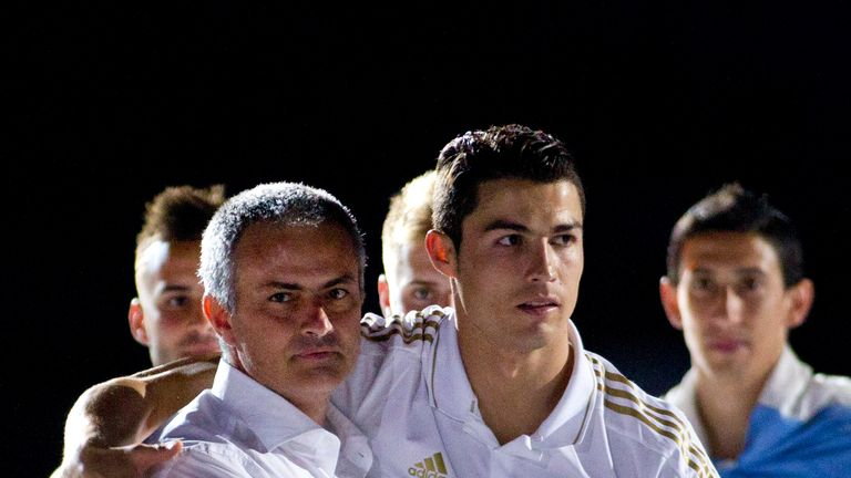 Jose Mourinho and Cristiano Ronaldo won La Liga and the Copa del Rey together at Real Madrid