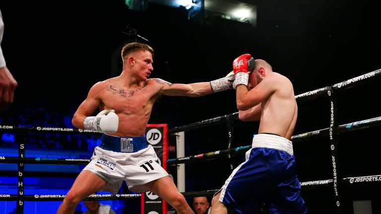 Sheffield super-lightweight Dalton Smith showed his class during his pro debut