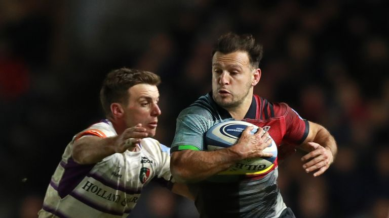 Danny Care and Harlequins are sat one point behind Saints in the race to finish in the top four