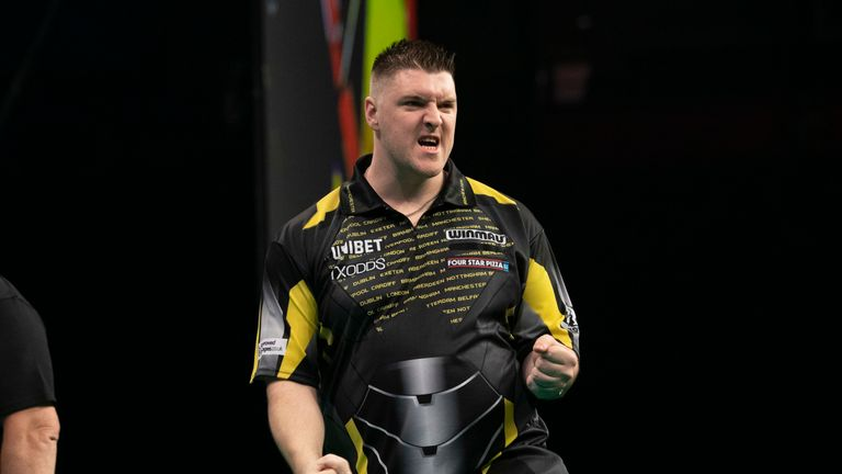 Daryl Gurney is bidding to reach the Play-Offs for the first time in his career
