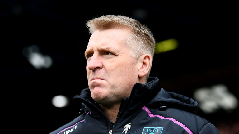Dean Smith expects to have a fully-fit squad available for the second leg