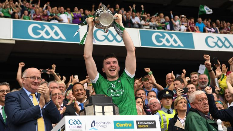 Limerick won the All-Ireland title last August for the first time since 1973