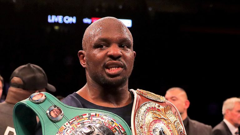 Dillian Whyte is the WBC no 1 ranked contender