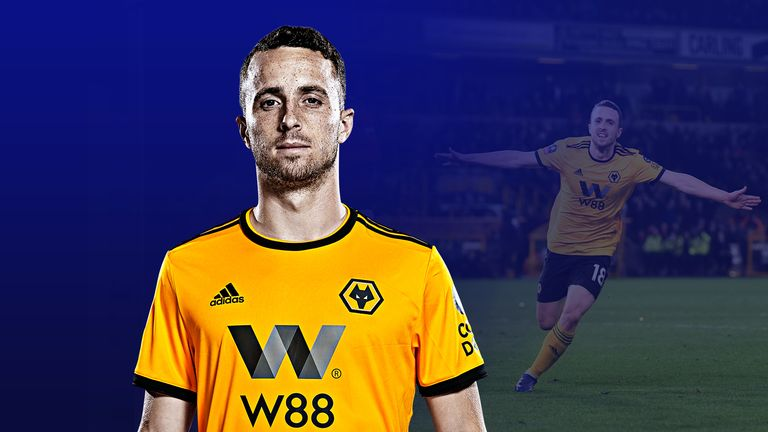 c87e88dffa6 Wolves forward Diogo Jota has impressed in his first season in the Premier  League