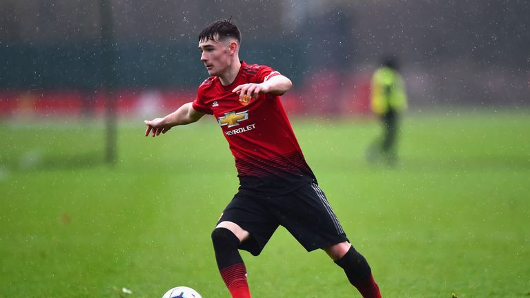 Dylan Levitt has combined impressive performances for Manchester United's U18s with a run in the Wales U19 side