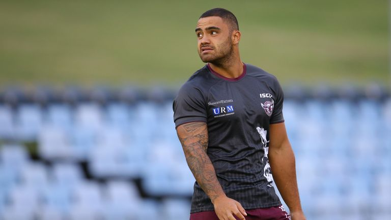 Dylan Walker is available for Manly again after he was found  not guilty of two domestic violence charges against his fiancee