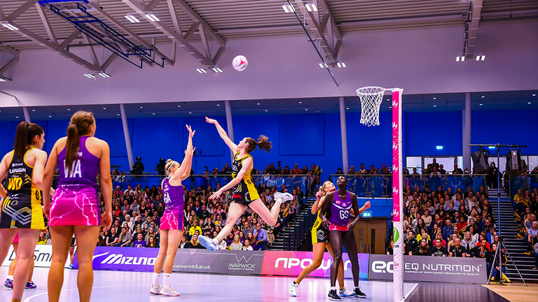 Ella Clark will be back with Lightning and Hannah Knights will once again lead Wasps Netball (Credit: Ben Lumley)