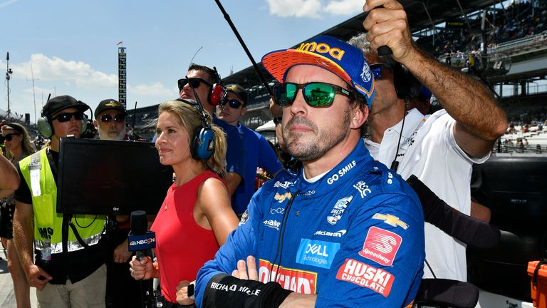 Alonso is trying to complete motorsport's triple crown by winning the famous event
