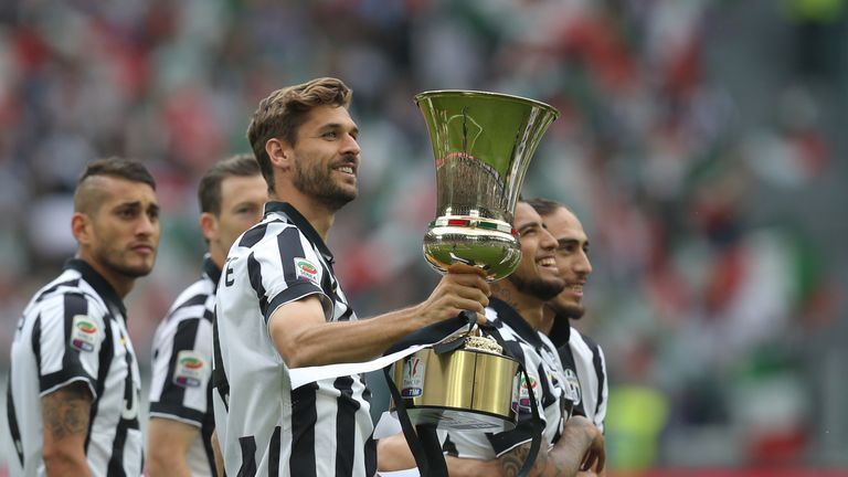 Llorente won three Serie A titles, one Coppa Italia and two Italian Super Cups during his three seasons with Juventus