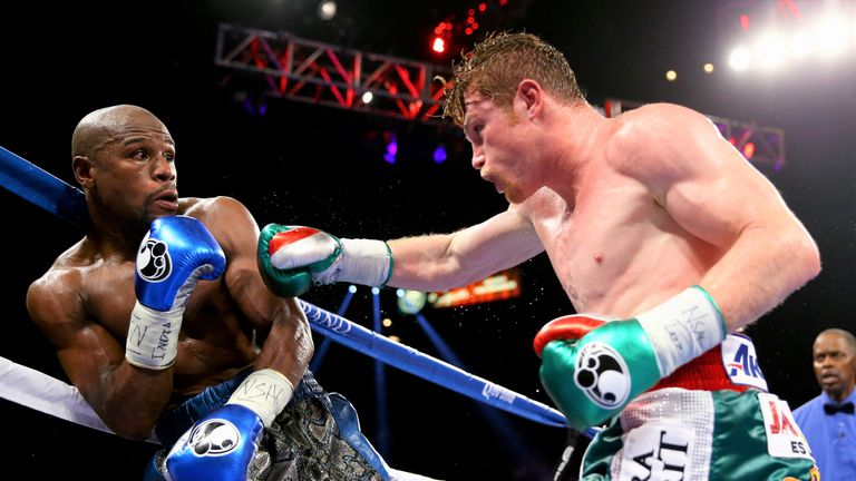 Mayweather neutralised Alvarez's aggression in a majority decision win