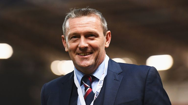 Aidy Boothroyd will remain in charge of England U21s until 2021