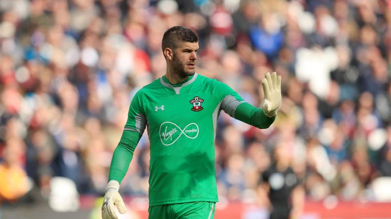 Southampton goalkeeper Fraser Forster has found himself on the sidelines in recent seasons