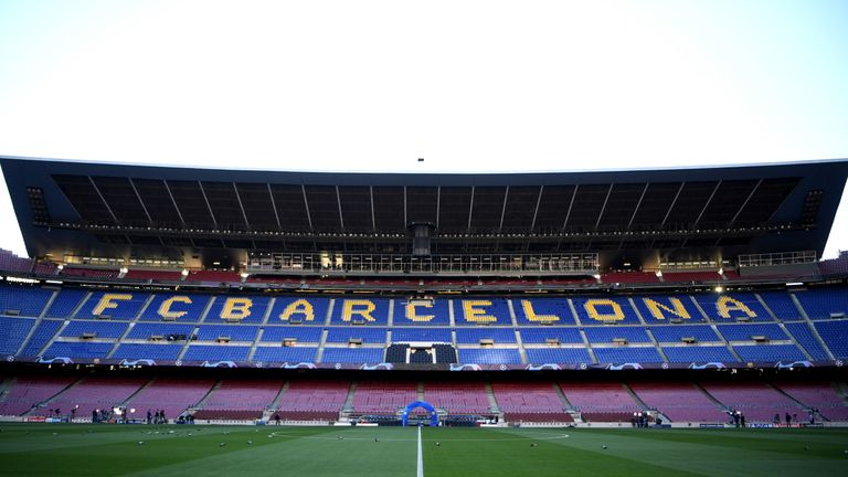 Louie Barry has swapped The Hawthorns for the Nou Camp