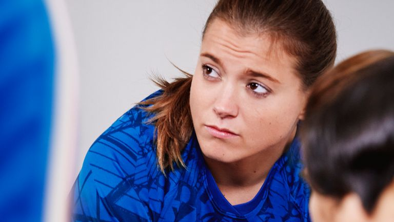 Fran Kirby helped Chelsea to the semi-finals of the Champions League this season