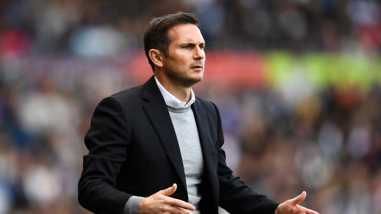 Derby have not received an approach for Frank Lampard, Sky Sports News understands