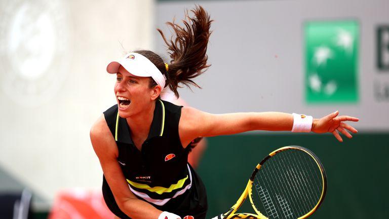 Johanna Konta bids for first Grand Slam final at French Open | Tennis News |