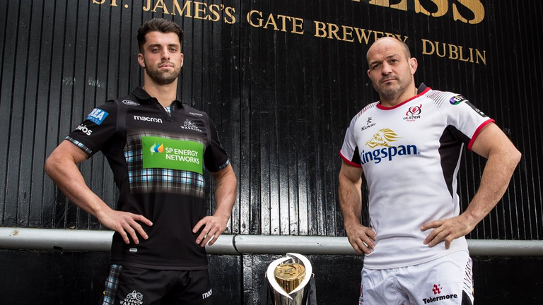 Glasgow Warriors vs Ulster is the first of two PRO14 semi-finals this weekend