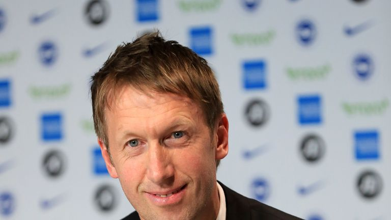 Brighton boss Graham Potter is delighted to have signed Webster