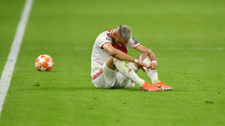 Ajax suffered the ultimate blow in their home leg
