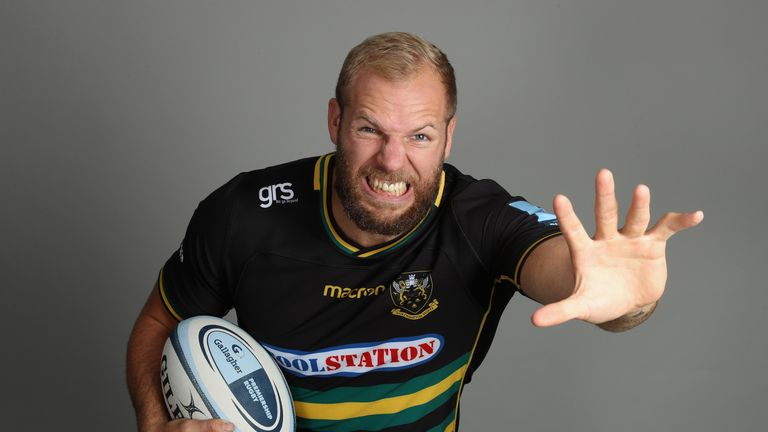 James Haskell retired from rugby on Tuesday after a career spanning 18 years. Below are some of his best bits...