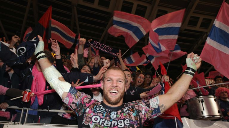 Haskell played two seasons in France with Stade Francais between 2009 and 2011