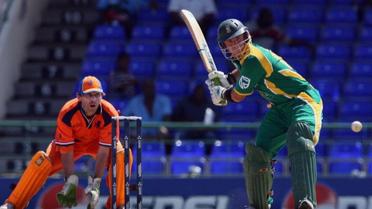 Herschelle Gibbs became the first player to strike six sixes in an over in an ODI