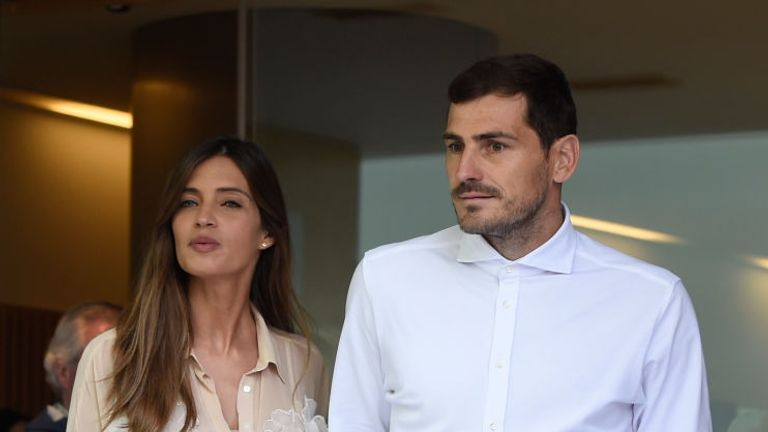 Casillas suffered an acute myocardial infarction in training on Wednesday morning