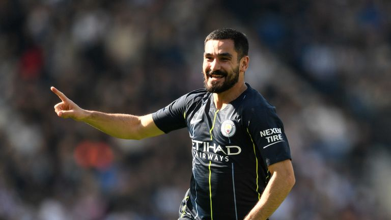 Ilkay Gundogan has 12 months remaining on his contract at Manchester City