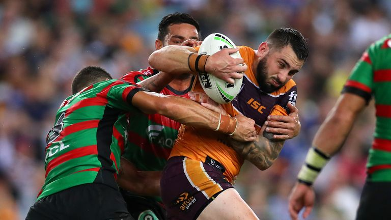 Brisbane centre Jack Bird sustained a season-ending injury in the NRL's Magic Round