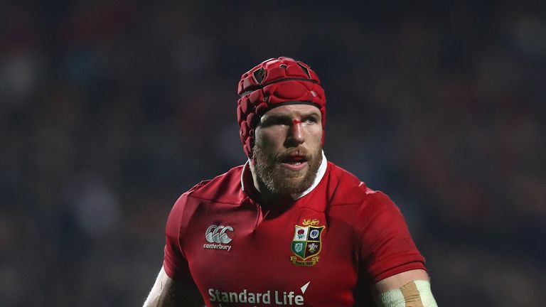 Haskell went on the 2017 British and Irish Lions tour of New Zealand